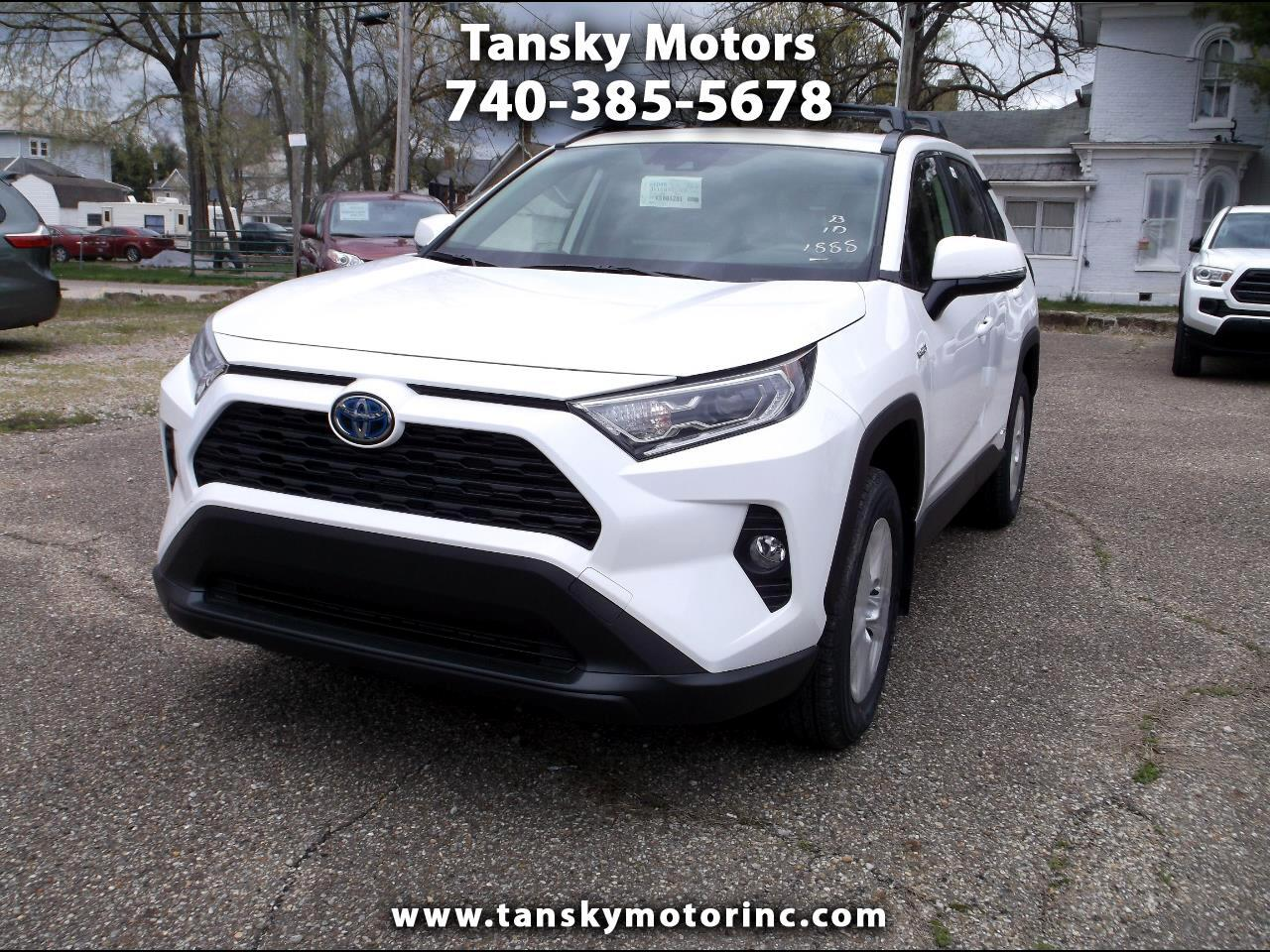 2019 Toyota RAV4 Hybrid XLE AWD (Natl)
