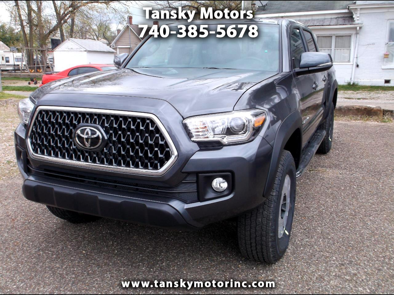 2019 Toyota Tacoma 4WD TRD Off Road Double Cab 5' Bed V6 MT (Natl)