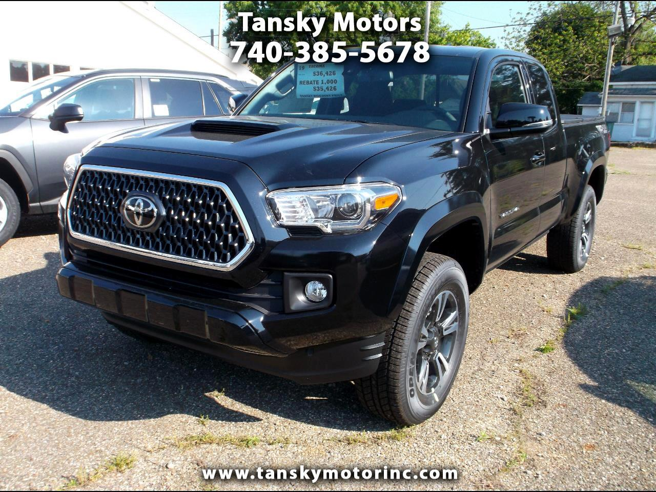 2019 Toyota Tacoma 4WD TRD Off Road Access Cab 6' Bed V6 AT (Natl)