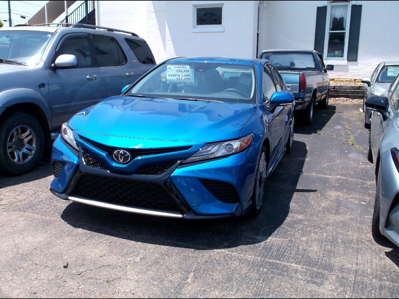 Toyota Camry XSE Auto (Natl) 2019