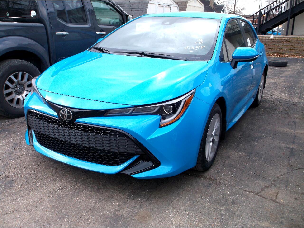 Toyota Corolla Hatchback SE CVT (Natl) 2020