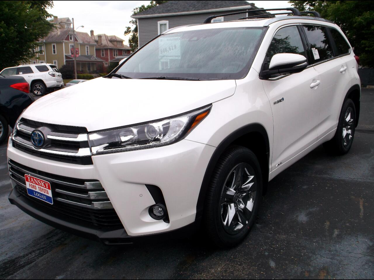Toyota Highlander Hybrid Limited V6 AWD (Natl) 2019