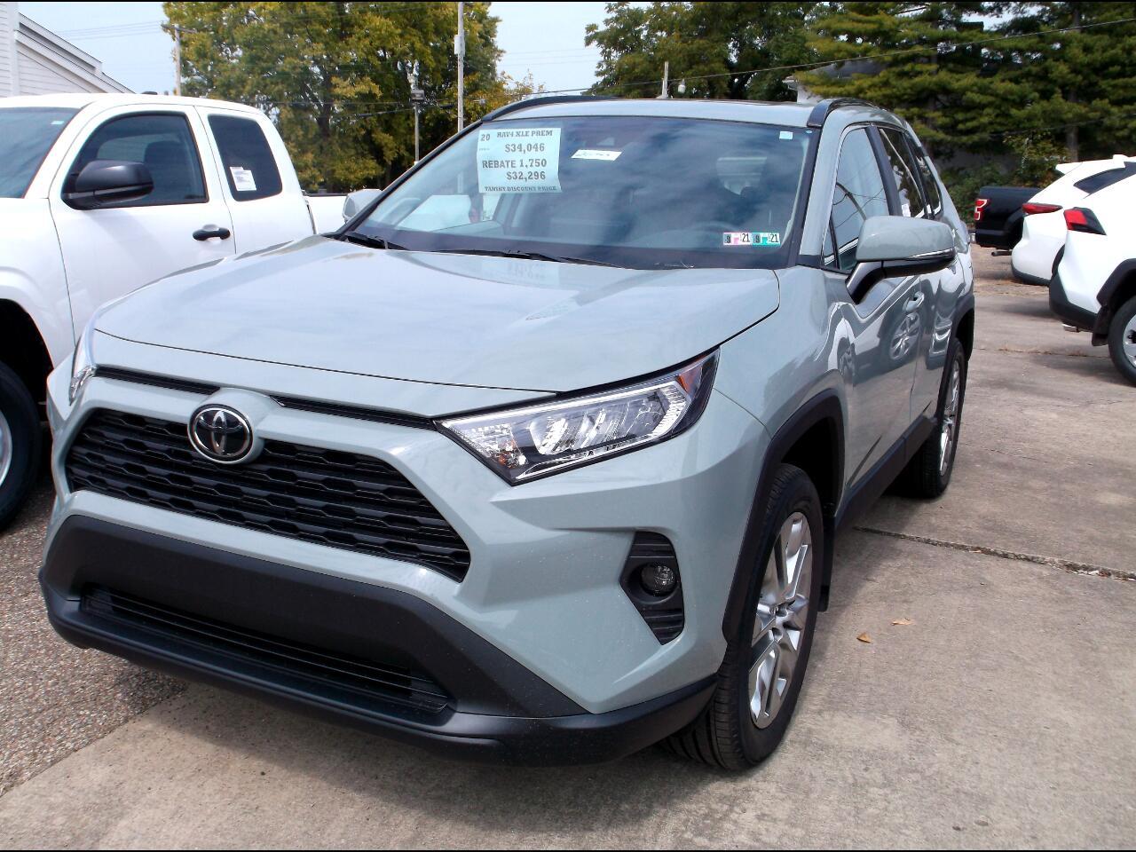 Toyota RAV4 XLE Premium AWD (Natl) 2020