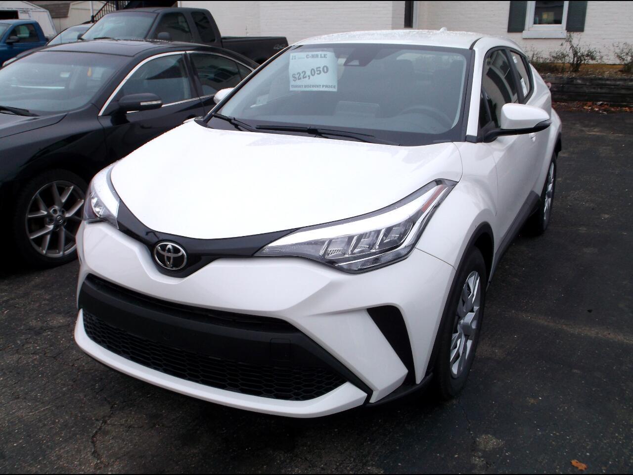 Toyota C-HR LE FWD (Natl) 2021