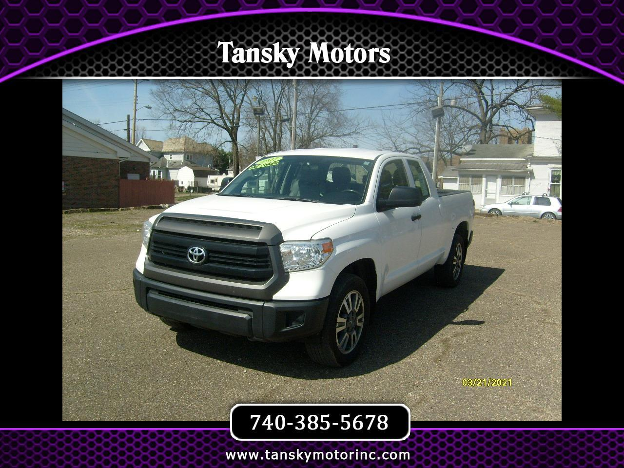 2017 Toyota Tundra 4WD SR Double Cab 6.5' Bed 5.7L (Natl)