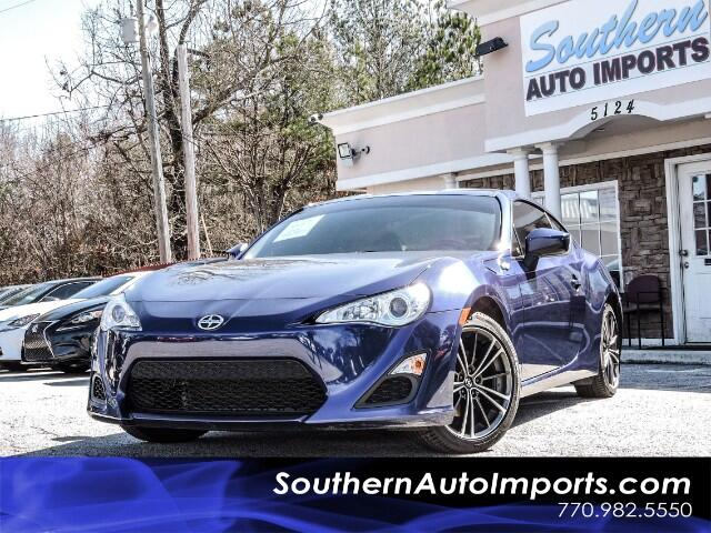2016 Scion FR-S 6 Speed manual w/Camera Bluetooth and Touch screen