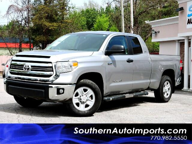 2016 Toyota Tundra SR5 5.7L V8 Double Cab 4x4 1owner