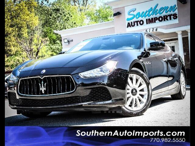 2014 Maserati Ghibli w/Navigation Back Up Camera