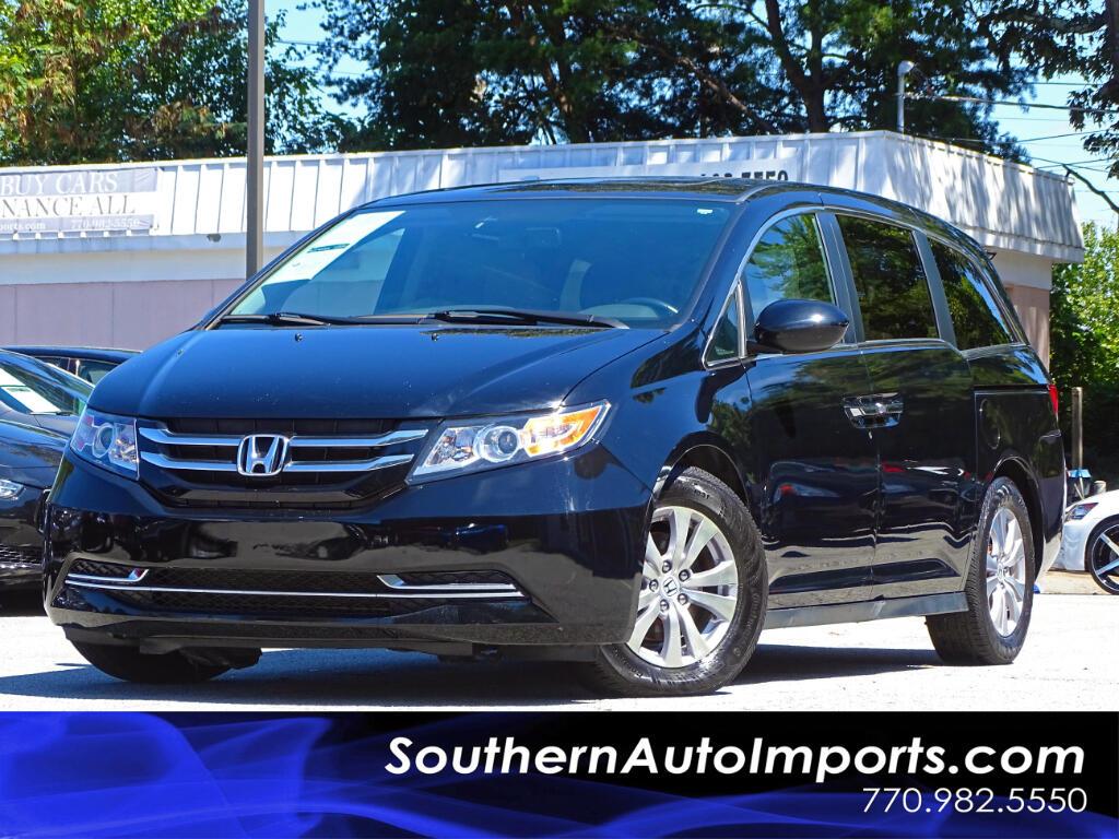 2014 Honda Odyssey EX-L w/Leather Seat Sunroo Lane Departure Assist