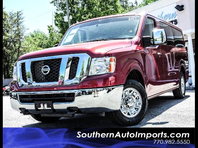 2016 Nissan NV Passenger 3500 SV V8 w/Navigation Back Up Camera