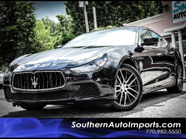 2015 Maserati Ghibli S w/Paddle Shifter 19in Wheels