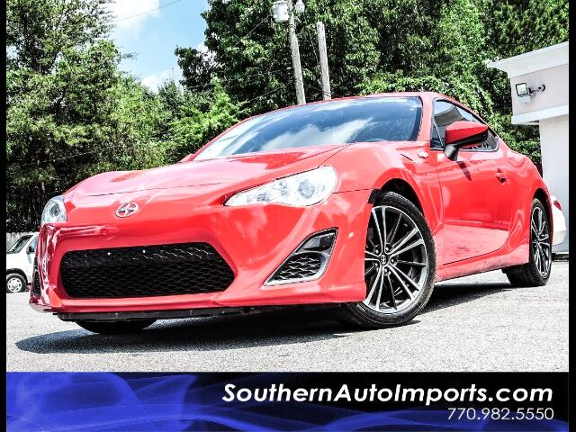 2015 Scion FR-S 6 Speed Manual w/Touch Screen Display
