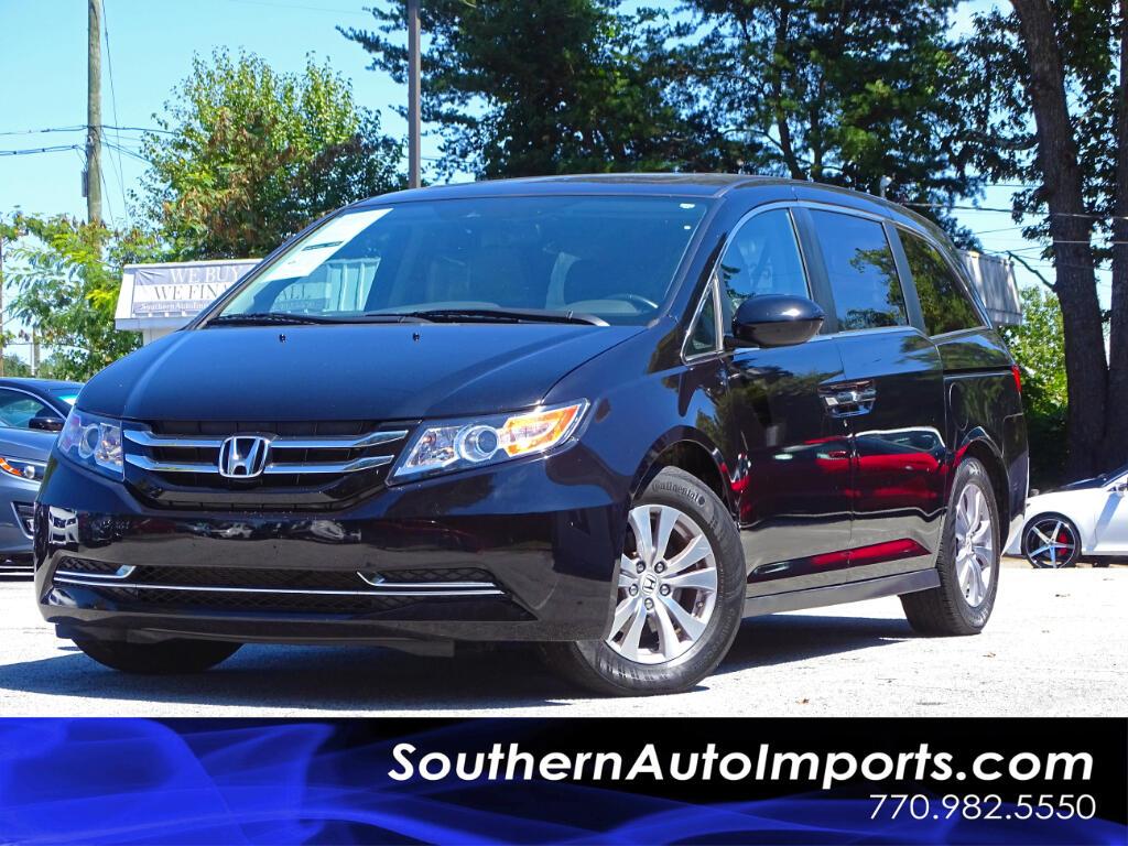 2016 Honda Odyssey EX-L w/Lane Departure Warning Back Up camera