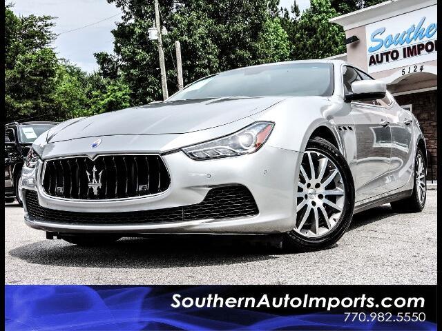 2014 Maserati Ghibli S Q4 w/Navigation 1owner