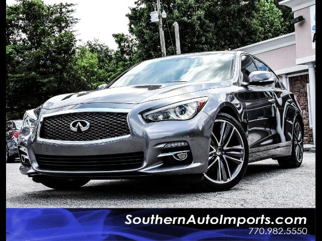 2015 Infiniti Q50 Premium w/Sport Wheels and Navigation
