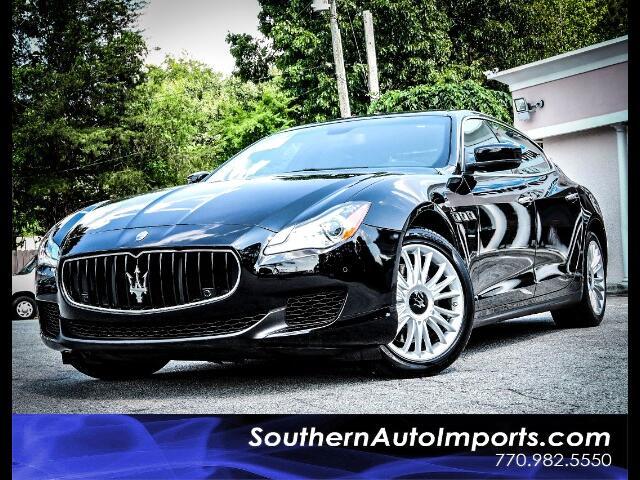 2014 Maserati Quattroporte S Q4 w/Navigation Back up Camera
