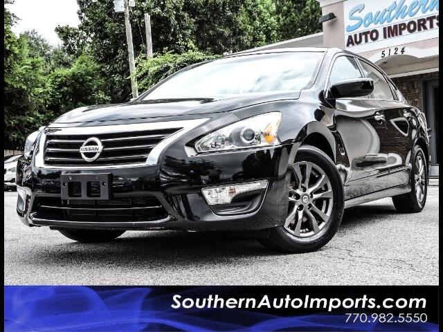 2015 Nissan Altima 2.5 S w/Back Up Camera Spoiler Alloy wheels