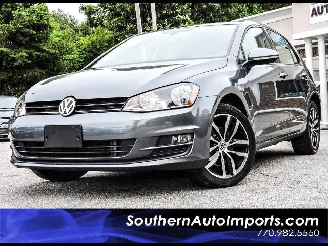 2015 Volkswagen Golf TSI SE w/Panorama Roof Back Up Camera