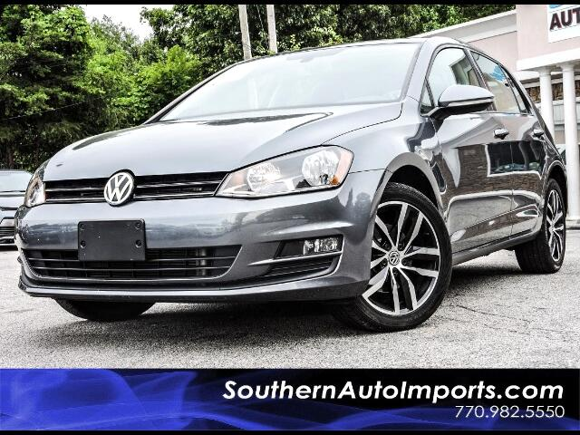 2015 Volkswagen Golf TSI SE w/Panorama Roof Back Up Camera