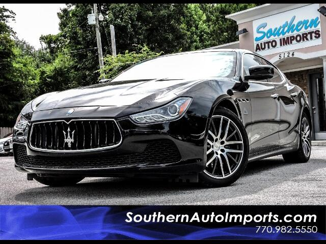2015 Maserati Ghibli S w/Paddle Shifters Navigation Proteo Wheels
