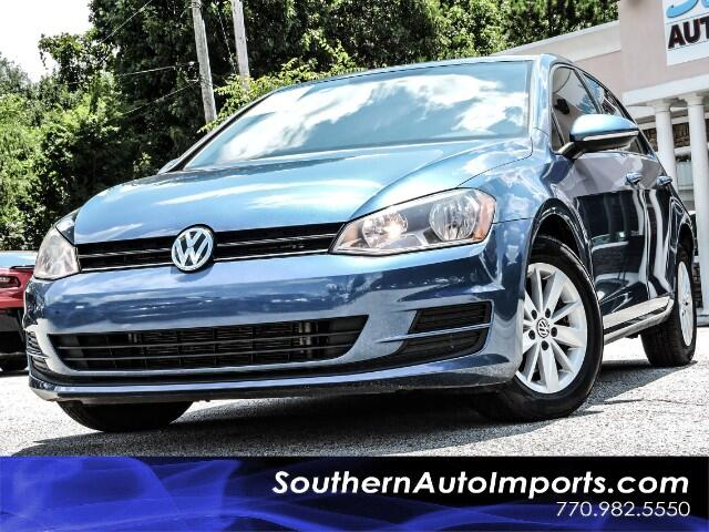 2017 Volkswagen Golf TSI S w/Back Up Camera