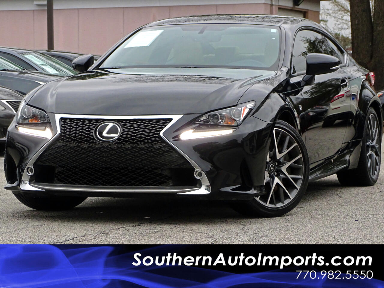 2015 Lexus RC 350 F-Sport w/Navigation 1owner