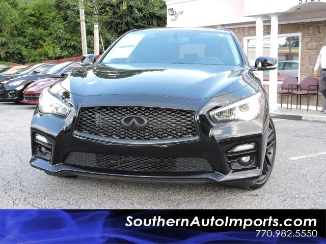 2015 Infiniti Q50 Sport Package w/Awd Navigation Paddle Shifters