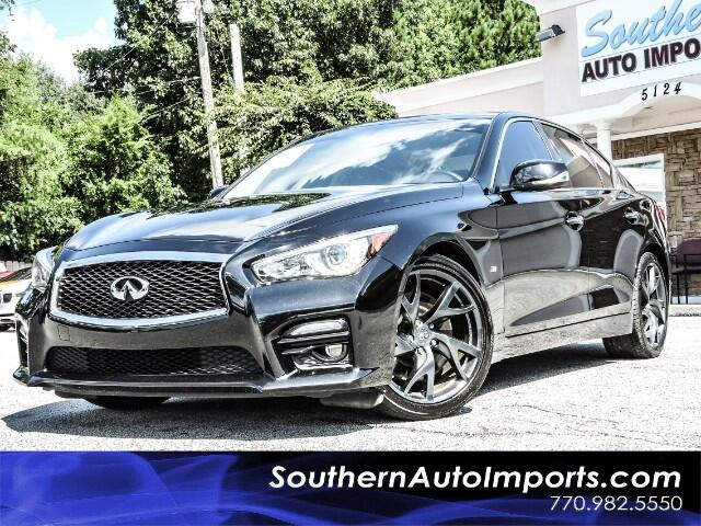 2015 Infiniti Q50 Sport Package w/Navigation Performance Sport Wheel