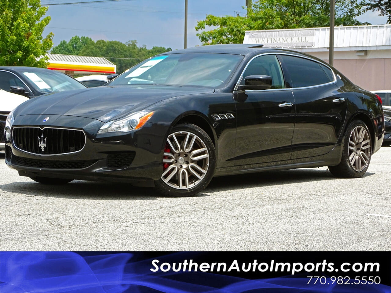 2015 Maserati Quattroporte S Q4 AWD w/Back up Camera Navigation