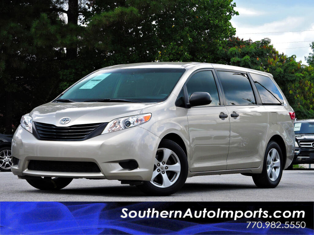 used 2016 toyota sienna l fwd 7 passenger v6 for sale in stone mountain ga 30087 southern auto. Black Bedroom Furniture Sets. Home Design Ideas