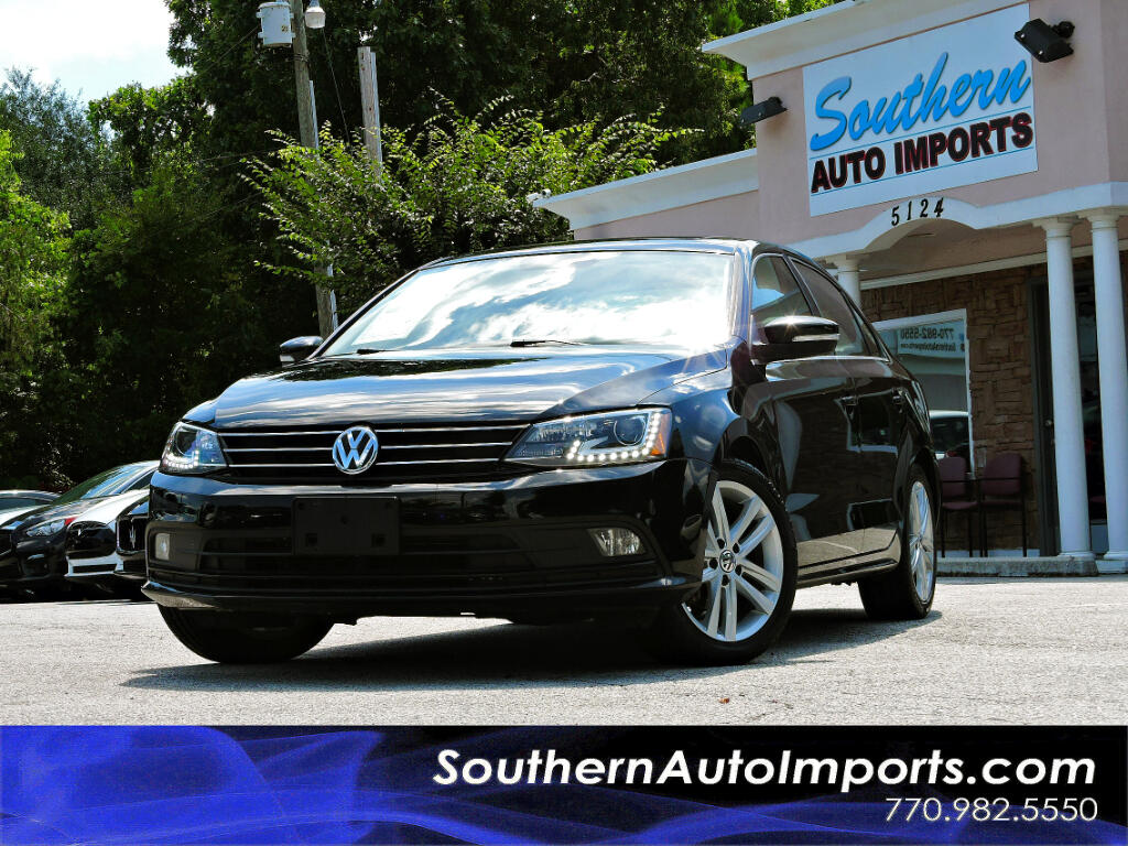 2015 Volkswagen Jetta SEL w/Navigation Sunroof