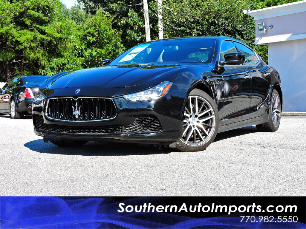 2015 Maserati Ghibli Sport Package w/Paddle Shifter Navigation