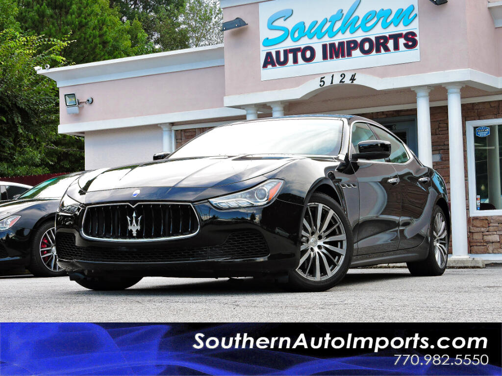 2015 Maserati Ghibli Luxury Package w/Navigation