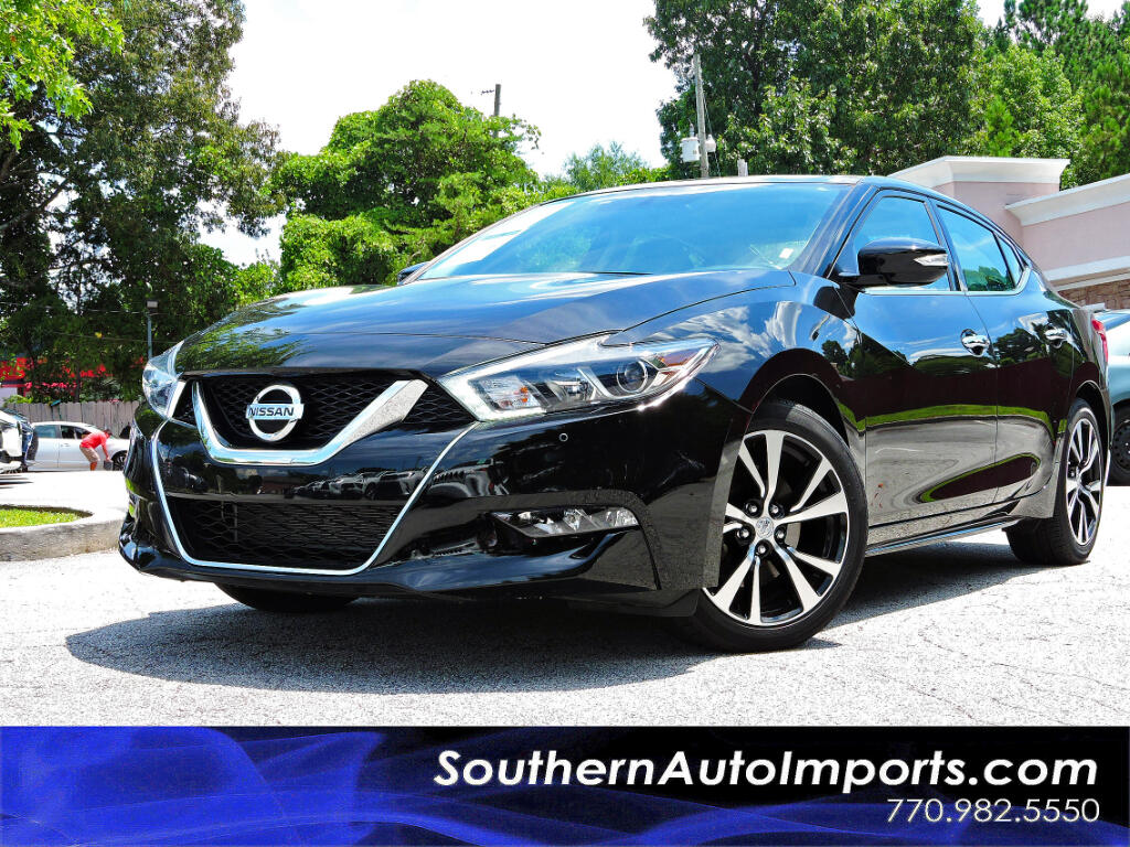 2018 Nissan Maxima 3.5 SL w/Panorama Roof