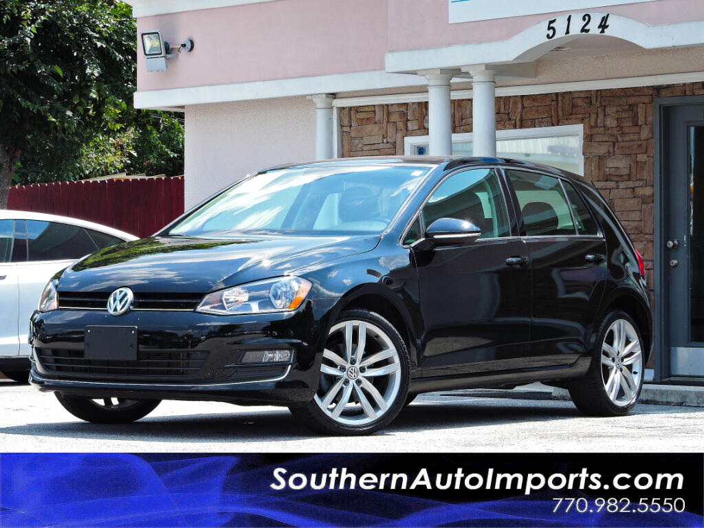 2015 Volkswagen Golf SEL TSI w/Panorama Roof Navigation Back Up Camera