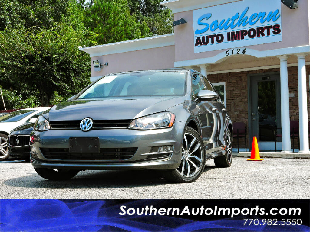 2015 Volkswagen Golf SE TSI w/Panorama Roof Back Up Camera