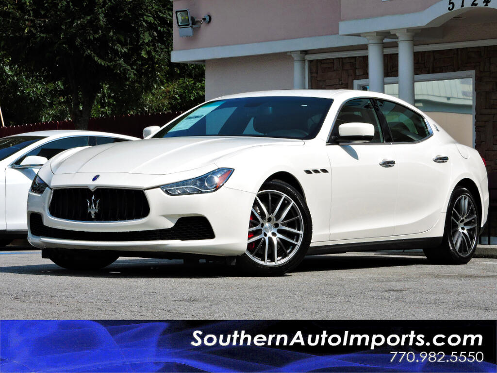 2015 Maserati Ghibli Sport Package w/Navigation Paddle Shifters