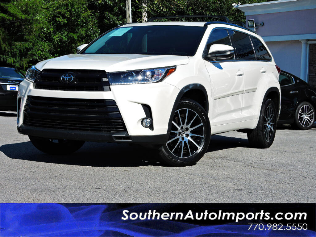 2017 Toyota Highlander SE V6 w/NAVIGATION SUNROOF