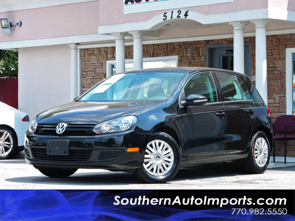 2014 Volkswagen Golf 2.5L Conv & Sunroof 4 Door PZEV
