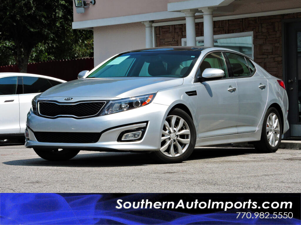 2015 Kia Optima EX w/Premiun Pkg Panorama Roof