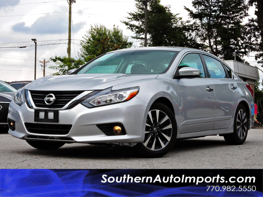 used 2016 nissan altima 2 5 sv w navigation sunroof for sale in stone mountain ga 30087 southern. Black Bedroom Furniture Sets. Home Design Ideas