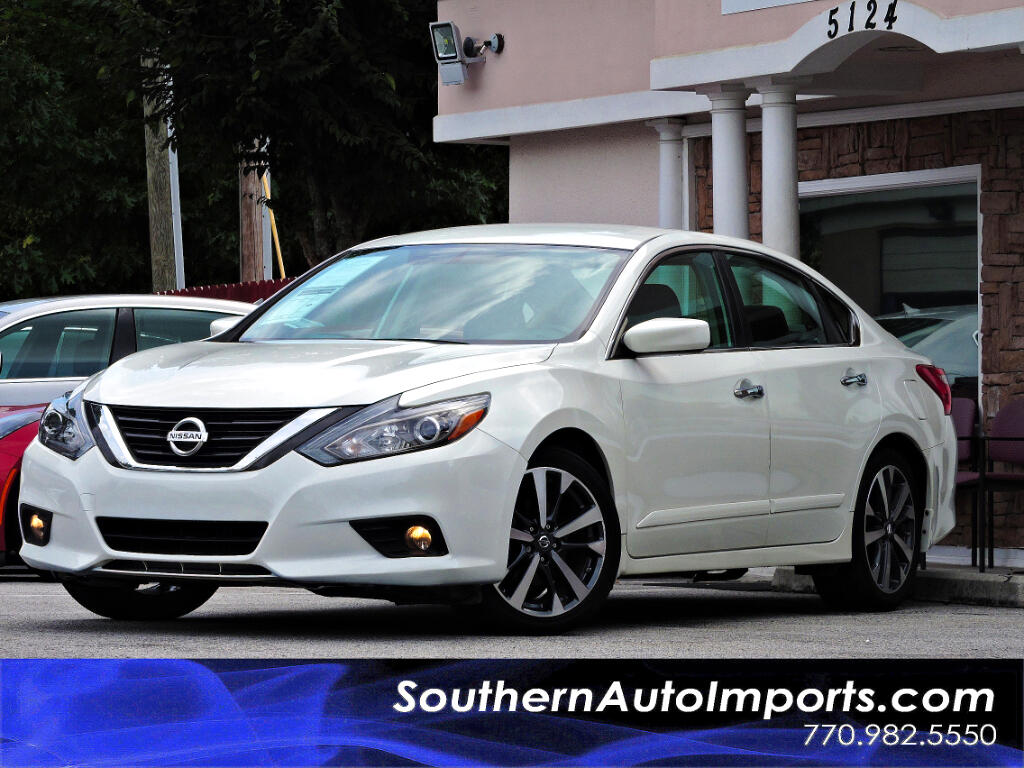 2016 Nissan Altima 2.5 SR w/Back Up Camera 1owner