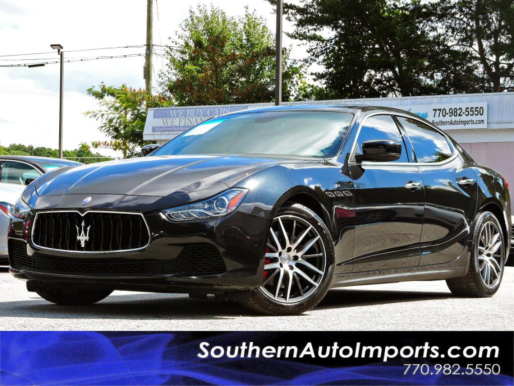 2014 Maserati Ghibli Sport Package w/Navigation Paddle shifters