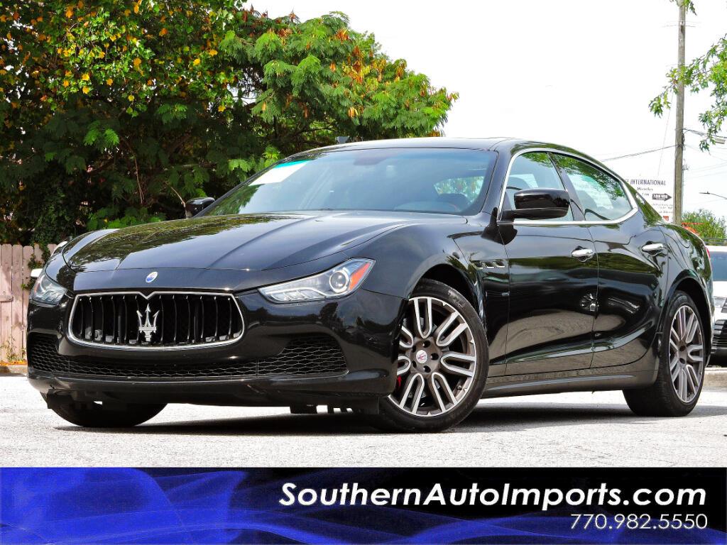2015 Maserati Ghibli Sport Package w/Paddle Shifters Navigation
