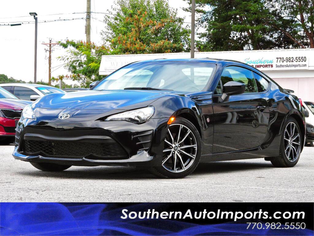 2017 Toyota 86 Manual 6 Speed w/Back up Camera