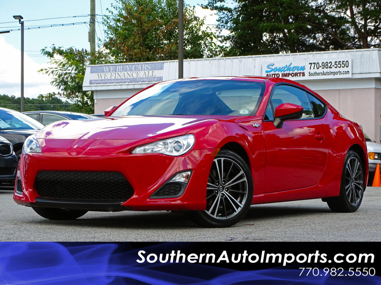 2015 Scion FR-S 2dr Cpe Man (Natl)
