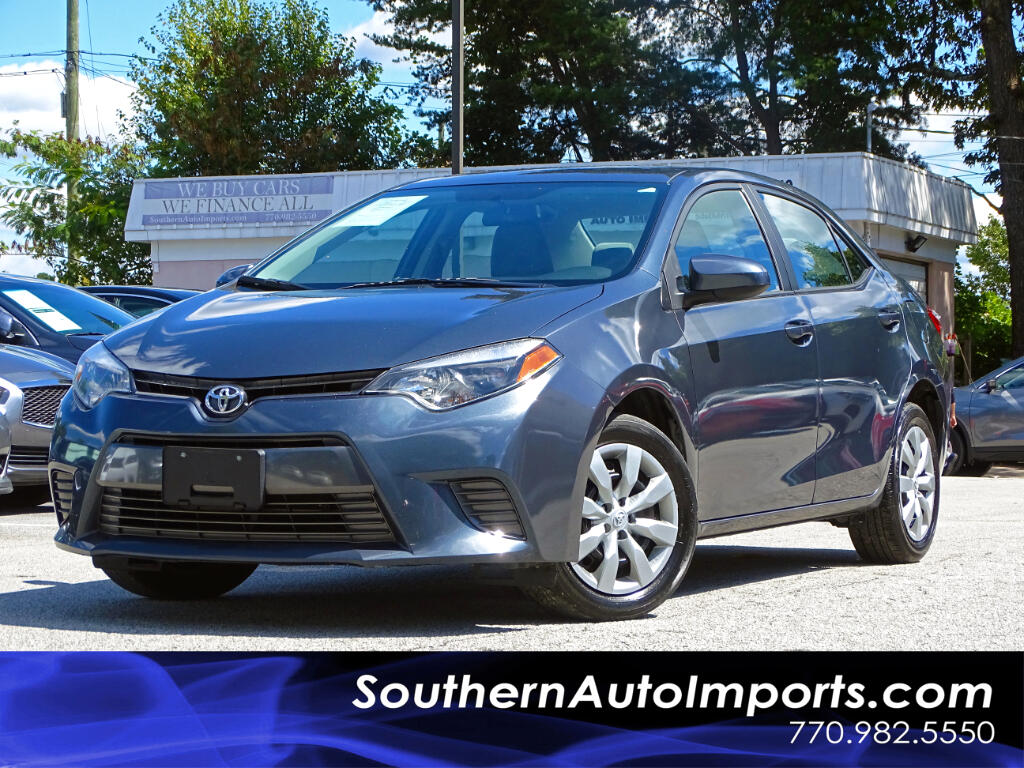2016 Toyota Corolla LE w/Back Up Camera 1owner