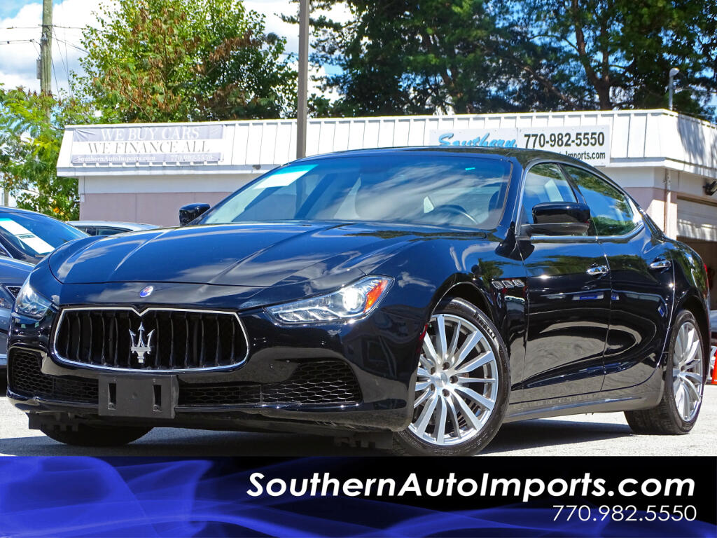 2015 Maserati Ghibli Premium Pkg w/Back up Camera Navigation