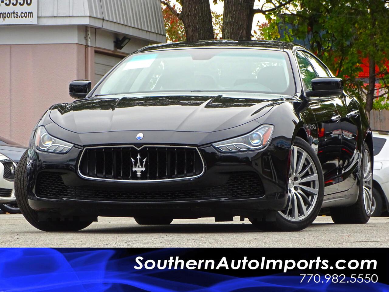 2015 Maserati Ghibli SQ4 w/Luxury Package Navigation