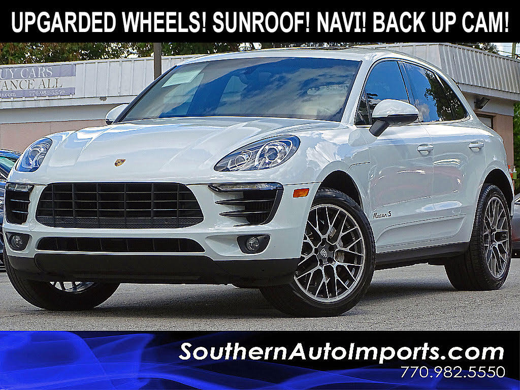 2015 Porsche Macan S AWD w/Premium Package Plus Panorama Roof